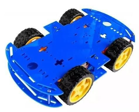 Kit Chassi 4WD - Azul