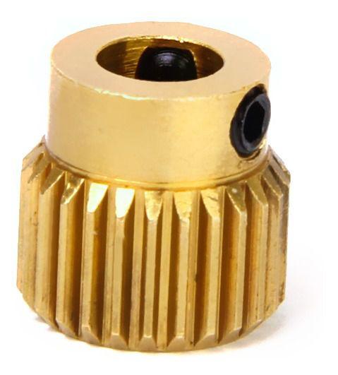 Polia Engrenagem Extrusor MK8 para Impressora 3D