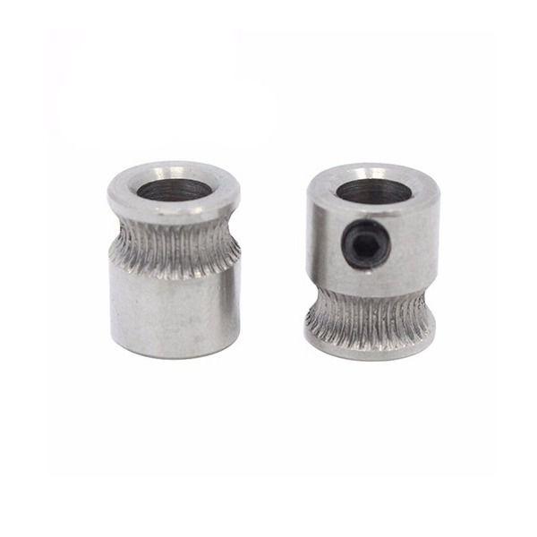 Polia Engrenagem Extrusor MK8 5mm para Impressora 3D