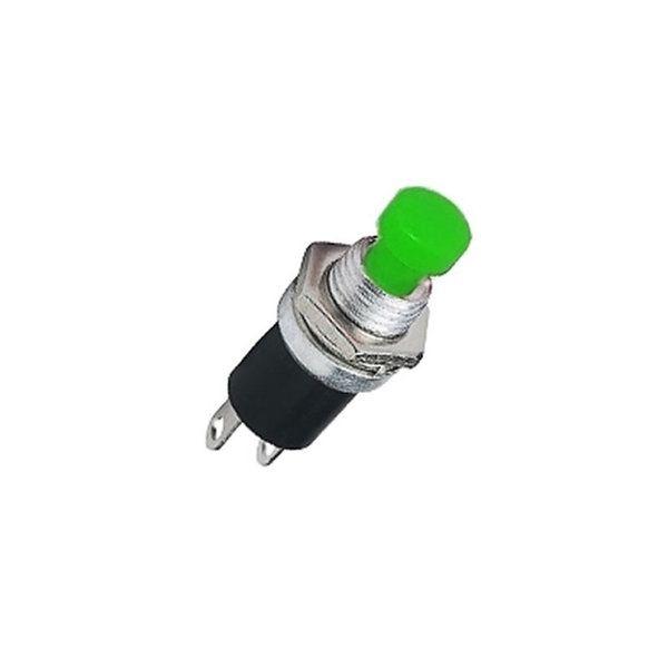 Chave Push Button N/A PBS-110 Sem Trava Verde