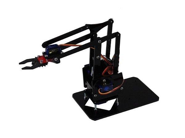 Braço Robótico - Estrutura em Acrílico
