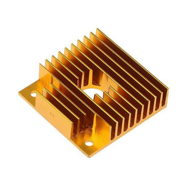 Dissipador de Calor MK8 40x40x11mm para Impressora 3D