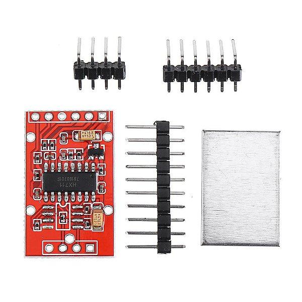 Módulo AD 24 bits HX711 com Metal Shield ideal para Células de Carga