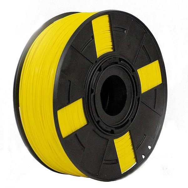 Filamento ABS Premium+ 1Kg 1.75mm Amarelo Canário