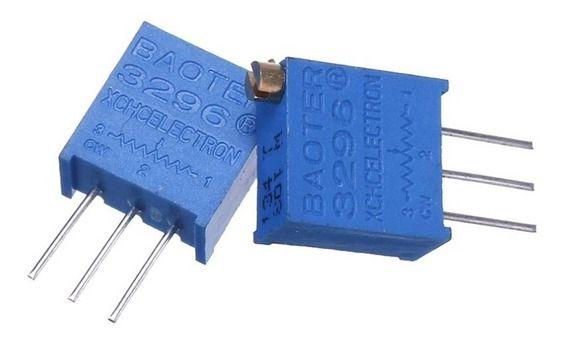 Trimpot 25 Voltas Multivoltas 3296X 100k