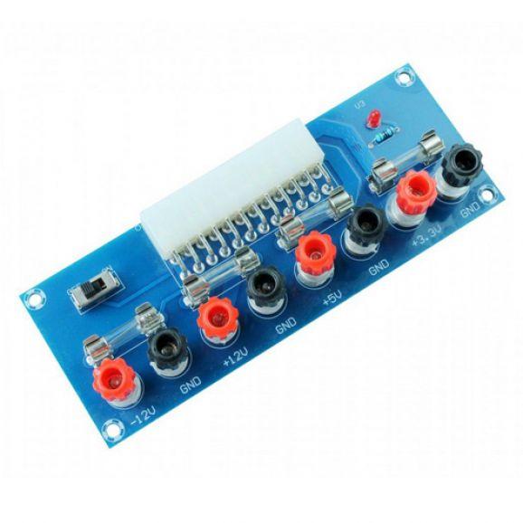 Módulo Adaptador de Terminais XH-M229 para Fonte ATX