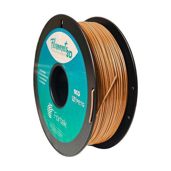 Filamento Petg 1.75mm 1Kg Dourado