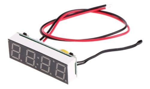 Módulo Display 3 em 1 -  Voltímetro / Temperatura / RTC