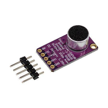 Módulo Amplificador Microfone Eletreto ACG MAX9814