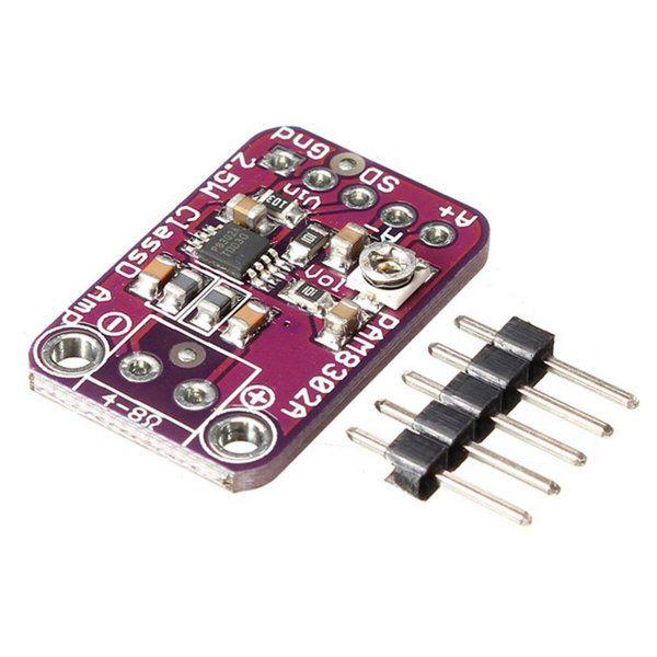 Módulo Amplificador de Áudio 2.5W PAM8302