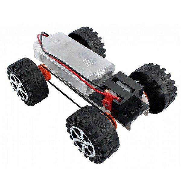 Chassi Metálico F17924 para Robótica Educacional