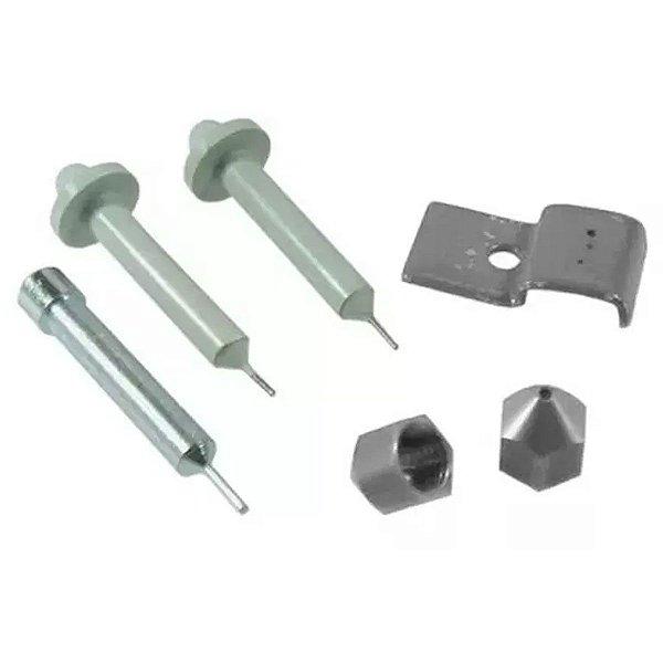 Kit com Matriz e Punção para Perfurador de Placa de Circuito Impresso