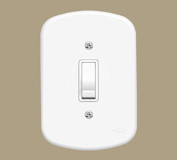 Interruptor 1 Tecla Simples