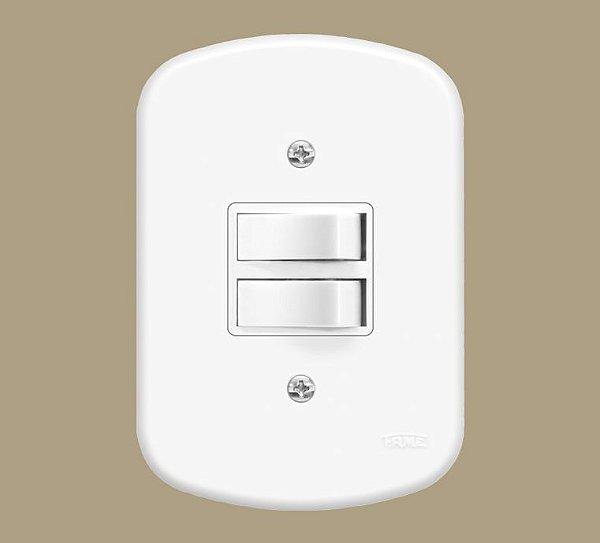 Interruptor 2 Teclas Simples