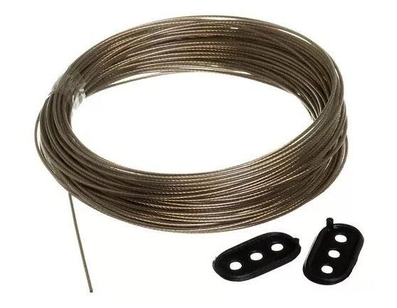 Varal de Aço Revestido em PVC