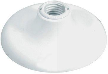 Plafon de Teto C/ Soquete de Louça E27 Branco