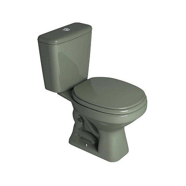 Vaso Sanitário com Caixa Acoplada Aspen Verde