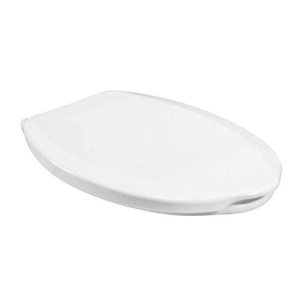 Assento Oval Pratic Branco - VIQUA
