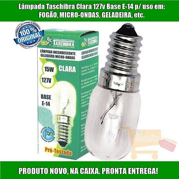 Lampada Micro-Ondas Clara 15W E-14 127V
