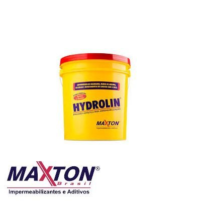 Hydrolin - Hidroasfalto Balde com 1 Litros ( Impermeabilizante )