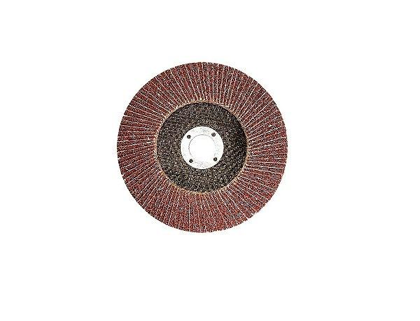 Disco Desbaste Flap Grão 100 115x22 - MTX