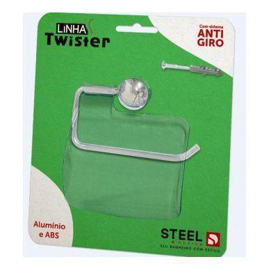 Papeleira ABS Twister - STEEL