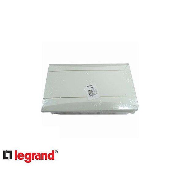 Quadro de Distribuição 8 Disjuntores DIN Branco - LEGRAND