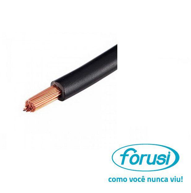 Fio Flexível 4,0 MM Preto - FORUSI