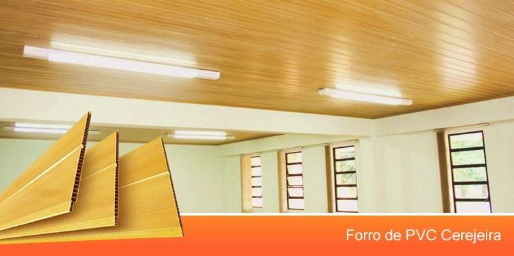 Forro PVC Germinado Cerejeira (8mm) - NORTEPLAST (SOB ENCOMENDA)