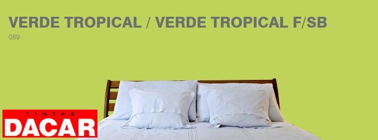 Tinta Acrílico Fosco Profissional 3,600 Litros Verde Tropical - DACAR