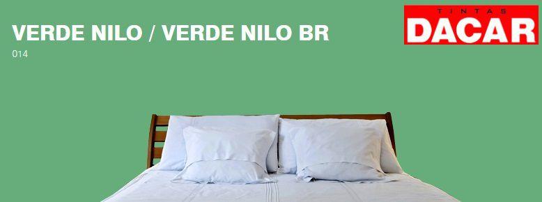 Esmalte Sintético Standard 3,600 ML Verde Nilo - DACAR
