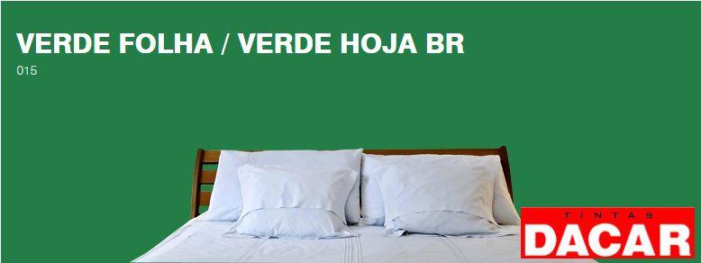 Esmalte Sintético Standard 3,600 ML Verde Folha - DACAR