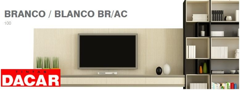 Esmalte Sintético Standard 900 ML Branco - DACAR