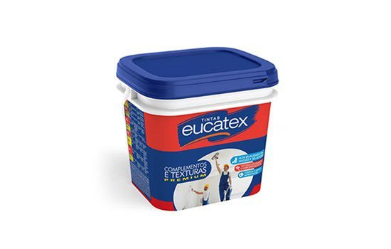 Textura Acrílica Rustica 26 KG Branca - EUCATEX