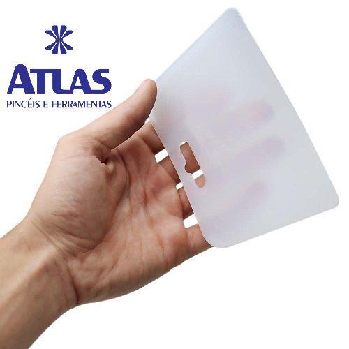 Espátula Plastica Multiuso 13,1 x 8,8 cm - ATLAS