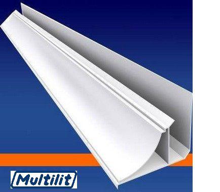Arremate Moldura Para Forro PVC Com 6 MT GELO - MULTILIT