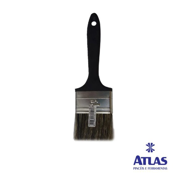 "Pincel Preto 3/4"" - ATLAS"