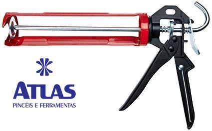 Pistola de Aplicar Silicone Reforçada - ATLAS