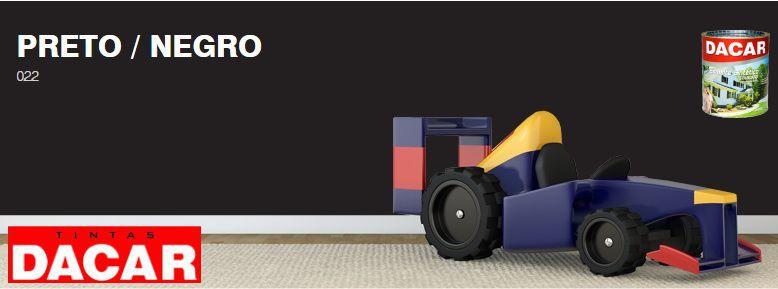 Esmalte Sintético Standard 900 ML Preto - DACAR