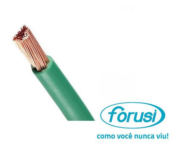 Fio Flexível 10,0 MM Verde - FORUSI