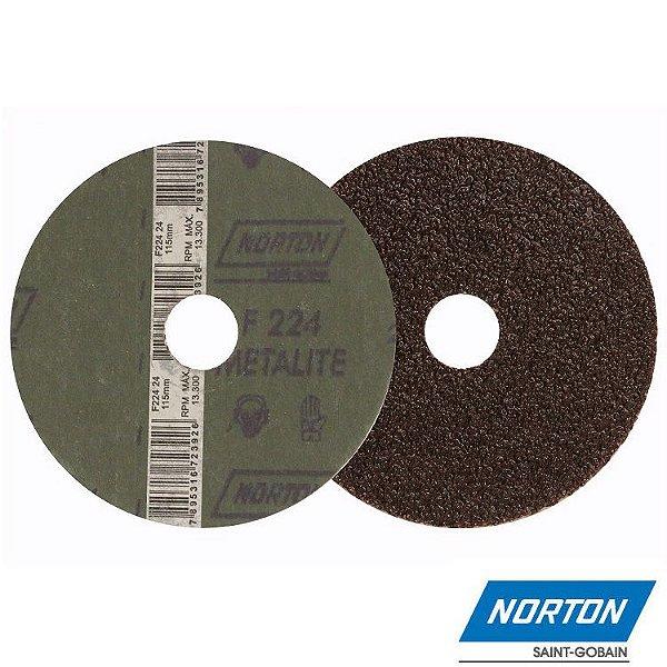 Lixa Disco Metal Grão 50 F-247 180 MM - NORTON