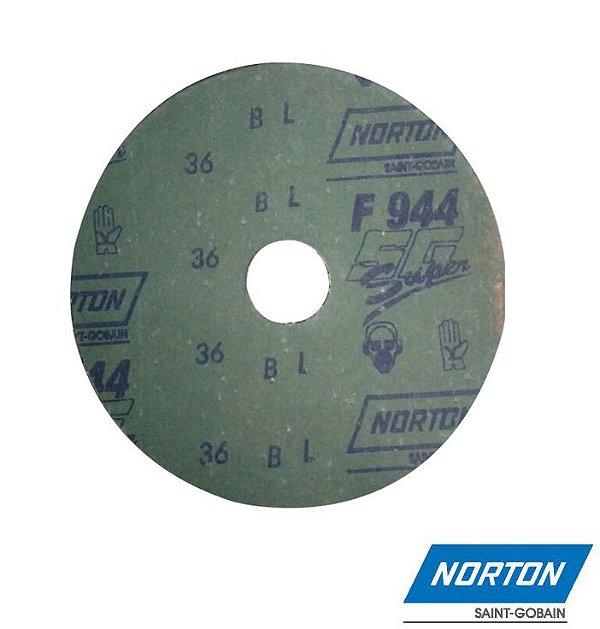 Lixa Disco Metal Grão 100 F-247 180 MM - NORTON
