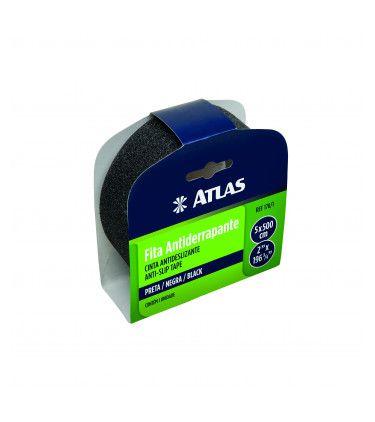 Fita Antiderrapante Preta 50 MM x 5 Metros - ATLAS