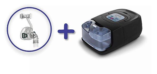 Kit CPAP Auto RESmart GI com Umidificador e máscara nasal iVolve N2 - M
