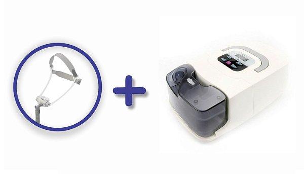 Kit CPAP Básico RESmart GI com Umidificador e máscara nasal Fealite Pillow