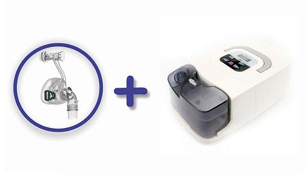 Kit CPAP Básico RESmart GI com Umidificador e máscara nasal iVolve N2 - M