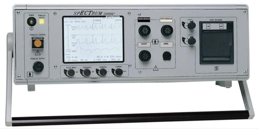 Sistema de Eletroconvulsoterapia MECTA 5000Q - (2EGG/1ECG/1OMS) - Por Encomenda