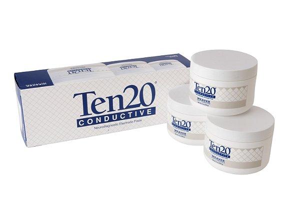 Caixa de pasta condutora Ten20 (3 potes de 228g)