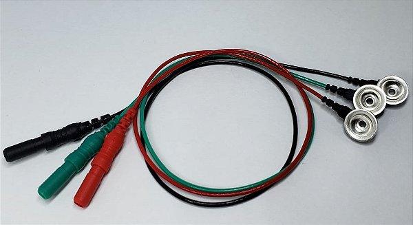 Kit Terminal de Cúpula 441 - E11 - Vermelho, Verde e Preto - 25cm