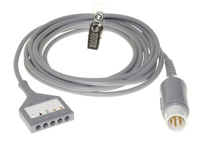 Cabo Mecta de Segurança do Monitor EEG/ECG - 9010-0011-01